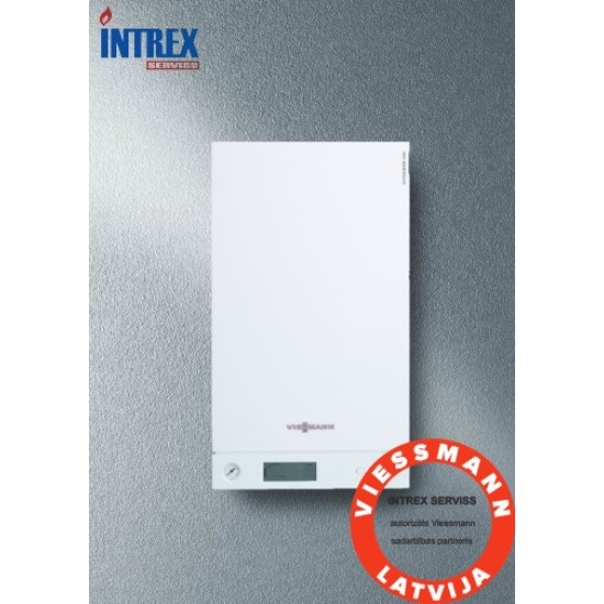 Gas  condensing boiler Vitodens 111-W B1LD,19kW, with integrated DHW cylinde 46L