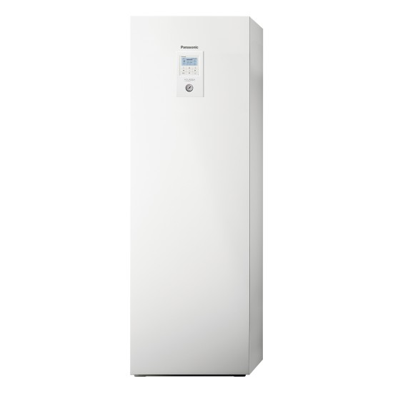 """Panasonic Aquarea air-water heat pump """"all-in-one"""" with boiler, R32, 5kW"""