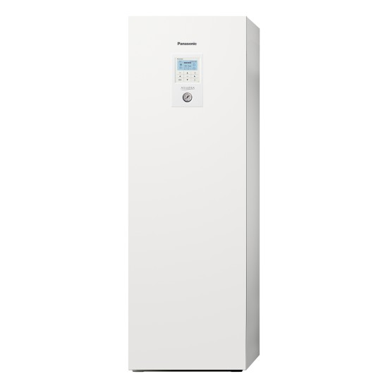 """Panasonic Aquarea air-water heat pump """"all-in-one"""" with boiler, three-phase, T-CAP, 9kW"""