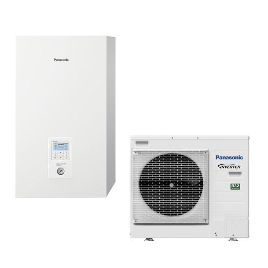 """Panasonic Aquarea air-water heat pump """"Bi-Bloc"""" without boiler, R32, 9kW"""