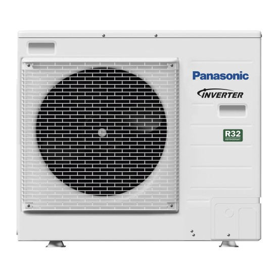 """Panasonic Aquarea air-water heat pump """"Bi-Bloc"""" without boiler, R32, 7kW"""