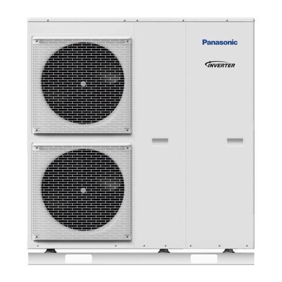 "Panasonic Aquarea air-water heat pump ""Bi-Bloc"" without boiler, three-phase, T-CAP Super Tylus, 16kW"