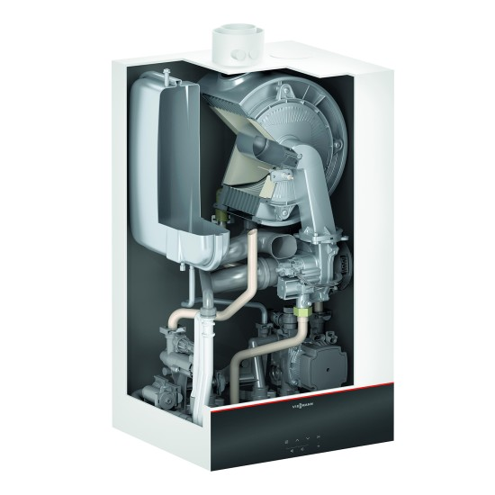 Gas condensing boiler Vitodens 100-W B1HF with tank connection, 25kW