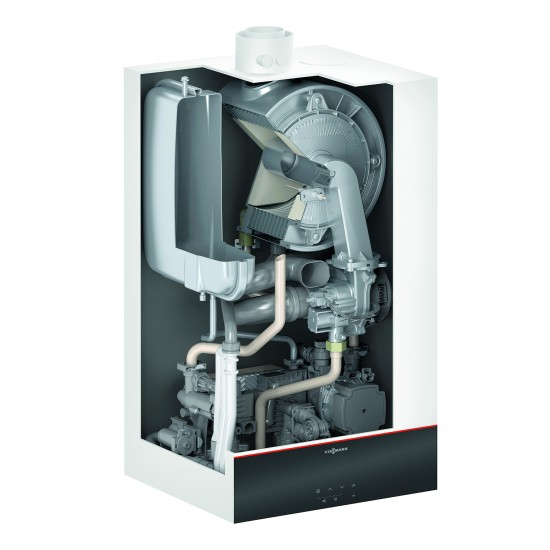 Gas condensing boiler Vitodens 100-W B1KF, combined, 32kW