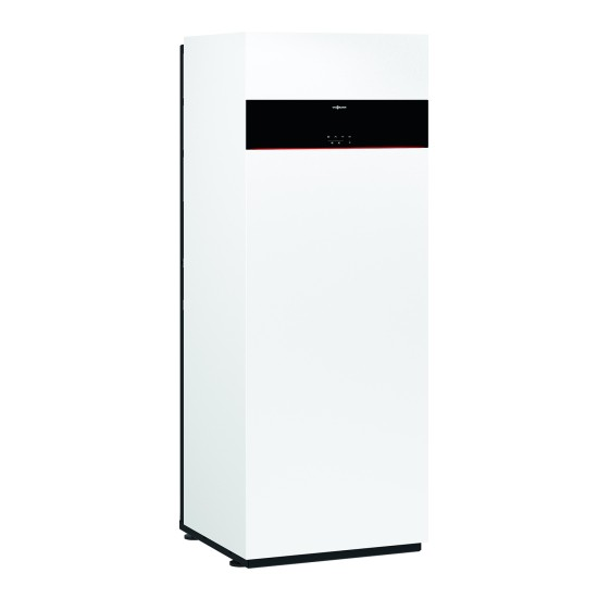 Gas condensing boiler Vitodens 111-F B1SF with built-in 130 l water tank with spiral, 32kW